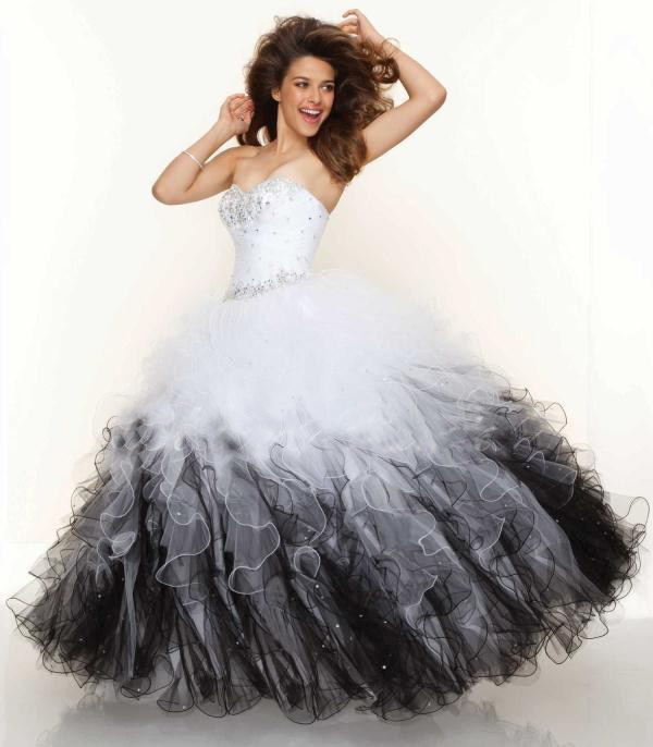 Aliexpress.com : Buy Charming Ruffled Sweetheart Ball Gown ...
