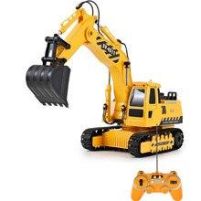 Высокое качество 1:20 Масштаб электрический пульт дистанционного управления грузовик игрушки для детей подарок RC вилочный инженерных 3ch