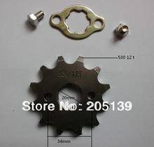 NEW 12 t tooth 20MM FRONT ENGINES sprocket FOR 530 CHAIN motorcycle MOTO PIT dirt ATV parts bike