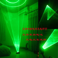 Free Shipping Green Light LED Laser Gloves Rotate Vortex Effect Dancing Stage Show DJ Club Party Disco Show Stage 4/5 Laser Head