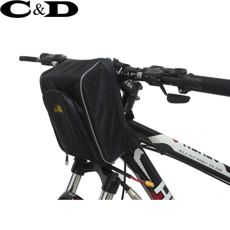 36V 48V 52V E-bike Battery Handelbar Bag 18650 Lithium ion PVC Pack Electric Bike Conversion Kit 250W 350W 500W 750W 1000W 1500W