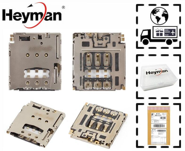 Heyman Flat Cable for Motorola XT1062 Moto G2 XT1063 XT1064 XT1068 SIM Card Connector Replacement part