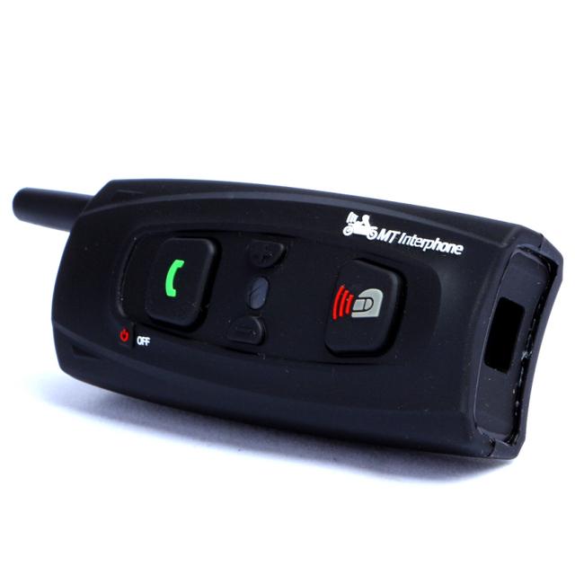 Capacete de moto Intercomunicador Interfone Motocicleta Do Bluetooth Interfone À Prova D' Água fone de Ouvido Fone De Ouvido para 2 Pilotos