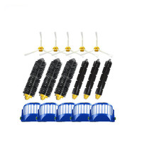 Vacuum Cleaner Parts 5 Hepa Filters Bristle 3 Pairs Flexible Beater Brush 5 Side Brushes Kits