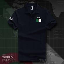 Republic of Algeria Algerian Islam DZA polo shirts men short sleeve white brands printed for country 2017 cotton nation Dzayer