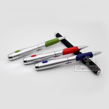 HOT NEW arrivals led pen flashlight 200pcs a lot stylus  spinning cob custom imprinted with your company logo