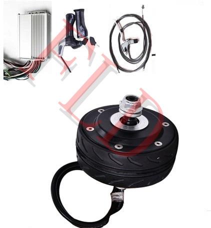 4 150w 24v Double Shaft Brushless Scooter Hub Motor