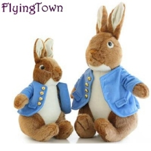 40cm 55cm Peter Rabbit plush toys children figure Peter Rabbit doll cartoon kawaii animals kids stuffed brinquedos free shipping