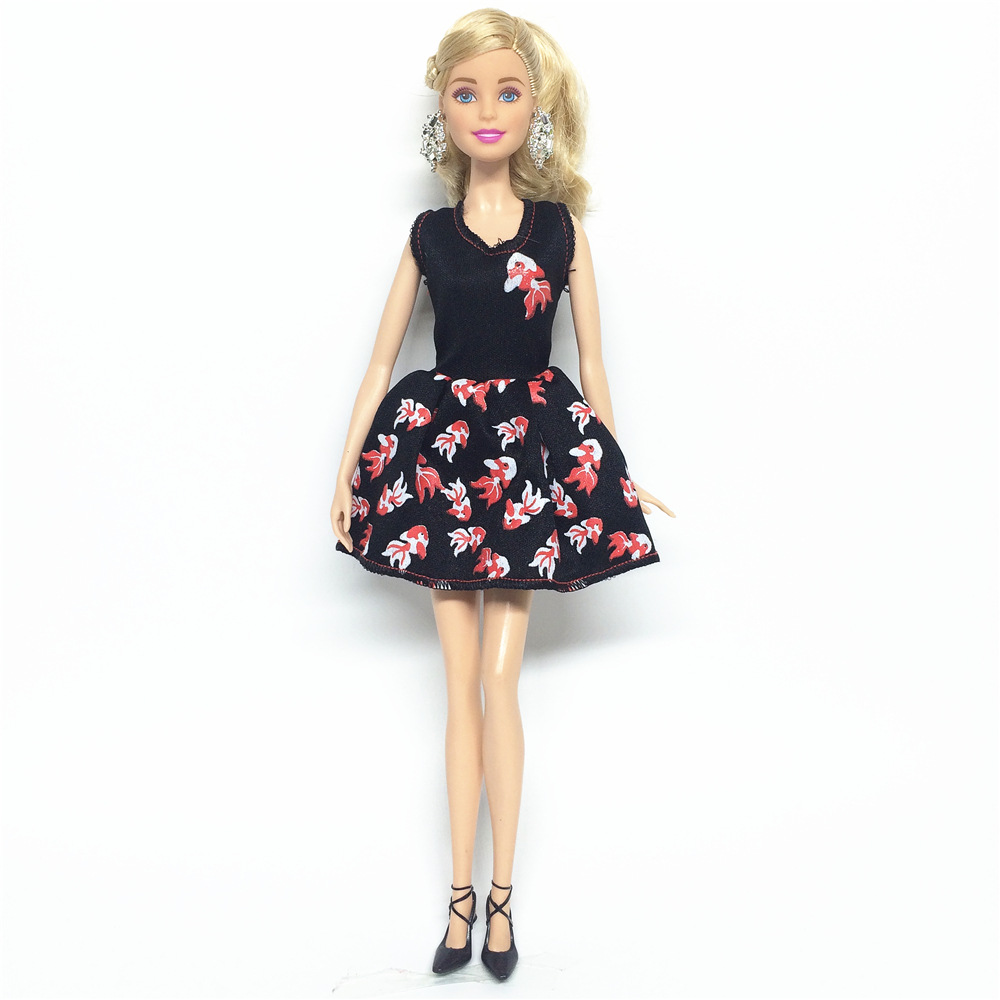 NK One Set Doll Clothes Dress Fashion Skirt Party Gown For Barbie Doll Girl Best Gift 032A|Dolls Accessories|   - AliExpress