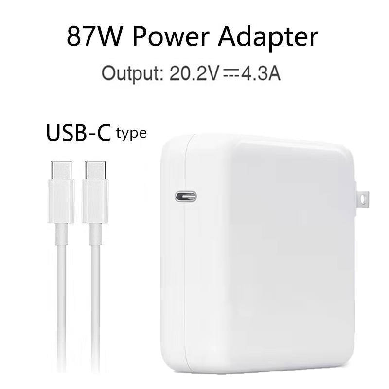 Youpin 87W 20 2V 4 3A USB C Power Adapter Type C PD Charger For Latest