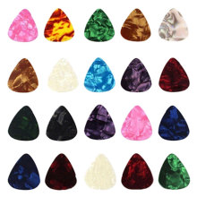 10/20 Pcs New Acoustic Picks Plectrum Celluloid Electric Smooth Guitar Pick Accessories 0.46mm 0.71mm 0.96mm