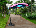 3 meter 10 ribs Lotos patio hanging sun umbrella garden parasol sunshade outdoor furniture cover (no base )