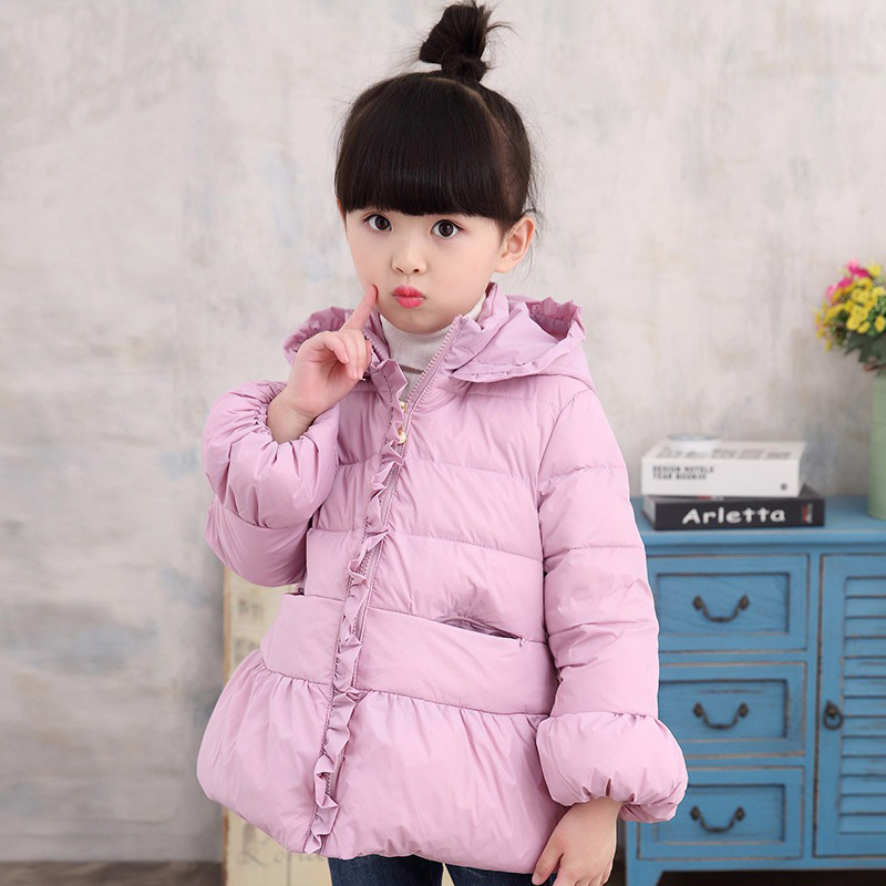 eee8a3faa Girls Winter Coat Cute Baby Girls Casual Comfortable Winter Jacket ...
