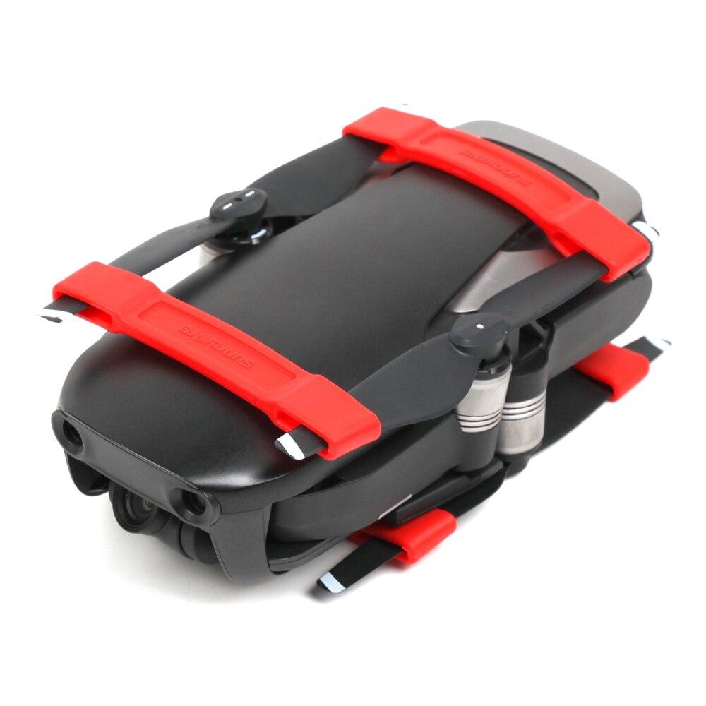 4 piezas estabilizador de hélice accesorios de fijación de piezas de soporte para DJI MAVIC AIR Dron accesorios de soporte de montaje accesorios de repuesto