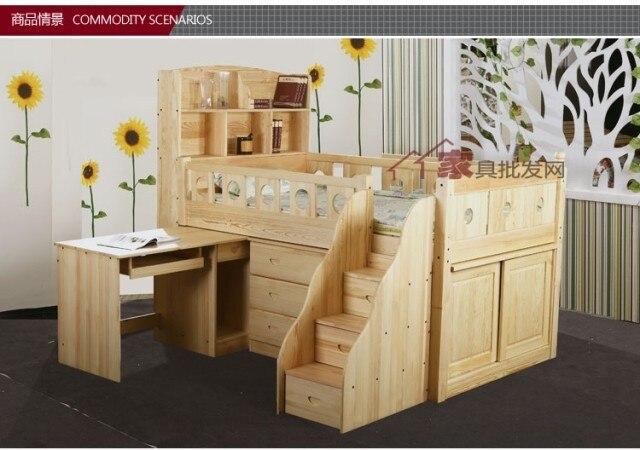Ikea Houten Kast : Specials ikea met ladder kast alle massief hout bed grenen bed