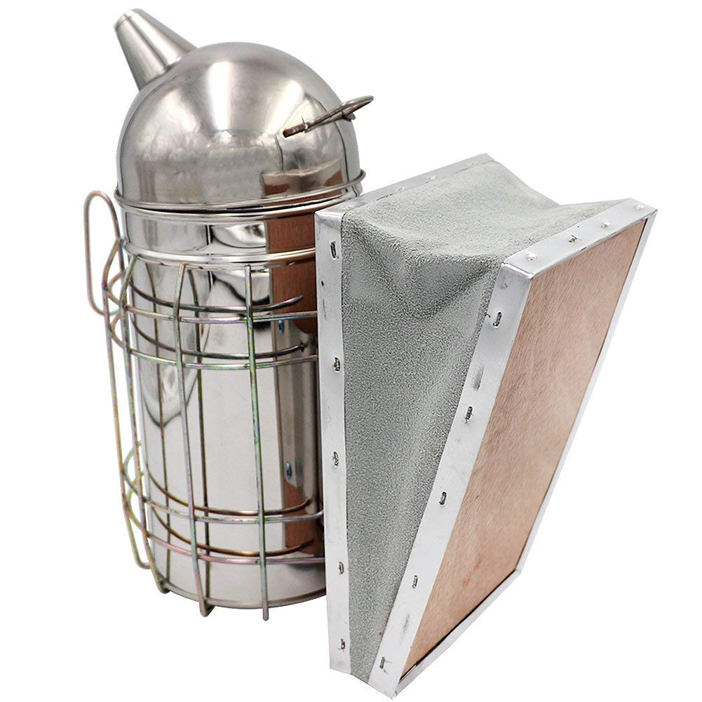Hot Sale Stainless Steel Beekeeping Smokers Bee Hive Equipments beekeeper's tools and equipments