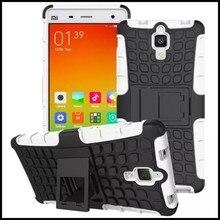 Для Xiaomi 4 Случаях Крышка Коке Fundas Телефон Мобильный Аксессуар Kickstand Heavy Armor Мешок Кремния Бумажник Для Xiaomi Mi Mi4 случаях
