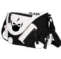 Anime flaş işık ning m hero omuz çantası tuval hediye çantası cosplay fan