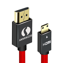 Mini HDMI Male-Male 1M 2M 3M 5M HDMI Cable V1.4 Supports Ethernet, 1080P, 3D, and Audio Return  for Tablets DVD PC HDTV