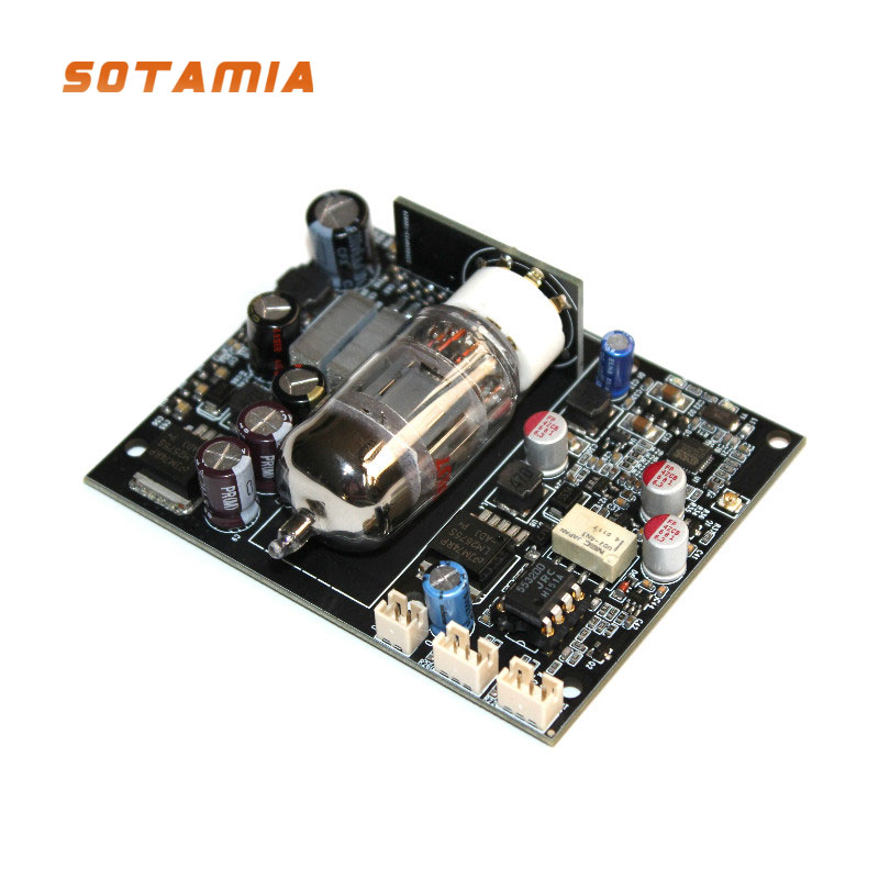 Carte récepteur Audio SOTAMIA 12AU7 Tube CSR8675 Bluetooth 5.0 carte décodeur Audio ES9018 DAC I2S APTX carte décodeur Audio 24Bit/96Khz LDAC