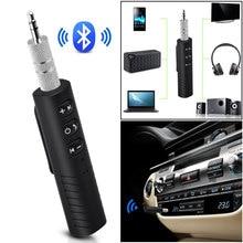 Автомобильный беспроводной Bluetooth приемник 3,5 мм разъем Bluetooth аудио музыкальный приемник адаптер динамик наушники адаптер аудио стерео для MP3