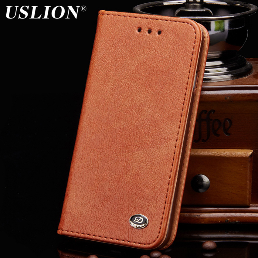Leather Wallet Phone Case For iphone 5 5s 6 6s 6 Plus 6s Plus 7 7Plus SE Card Holder Flip Stand Mobile Phone Case Full Protect
