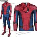 Hero Catcher High Quality Tom Holland Spiderman Spandex Suit Civil War Spiderman Costume Captain America Spiderman Spandex Suit