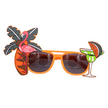 2019 Beach Party  Decorations Wedding Decor Pineapple Sunglasses Hawaiian Funny Glasses Event Supplies Novelty Flamingo