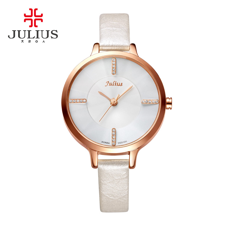 JULIUS Fashion Watch Women Brand Luxury Women Watches Tungsten Steel Waterproof Quartz Feminino Ladies Free Shipping Clock Gift dom brand luxury women watches waterproof tungsten steel bracelet fashion quartz silver ladies watch relogio feminino