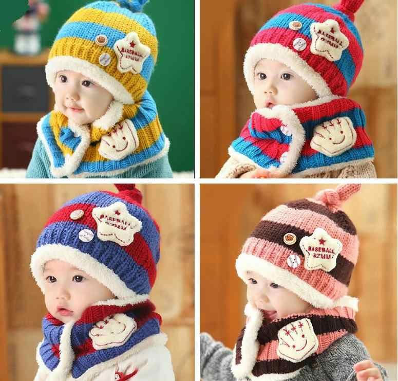 c23154bf639a6 Detail Feedback Questions about Unisex Child Beanies Cap Set Baby ...