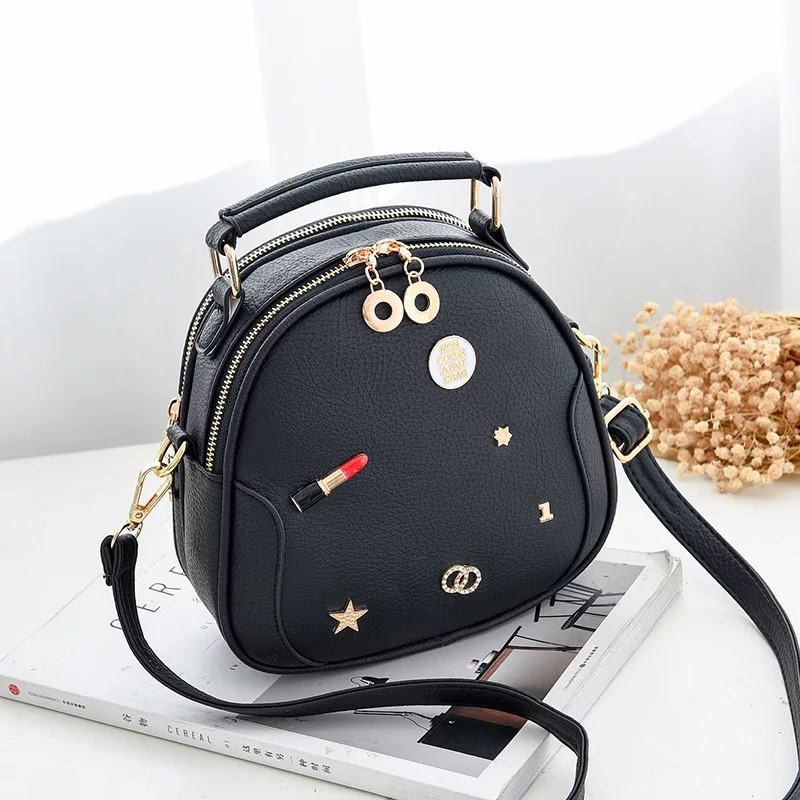 35a0af0be381 women Lipstick Crossbody bags Fashion female lovely Shoulder bag for women  tiny soft Purse lady Messenger