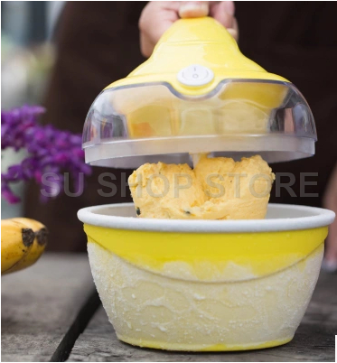 Frozen Fruit machine icecream home full automatic mini slush machine household ice cream maker edtid new high quality small commercial ice machine household ice machine tea milk shop