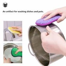 4pcs Anti microbial cleaning sponge magic sponge melamine sponges kitchen sponge for washing dishes kitchen scourer pan brush