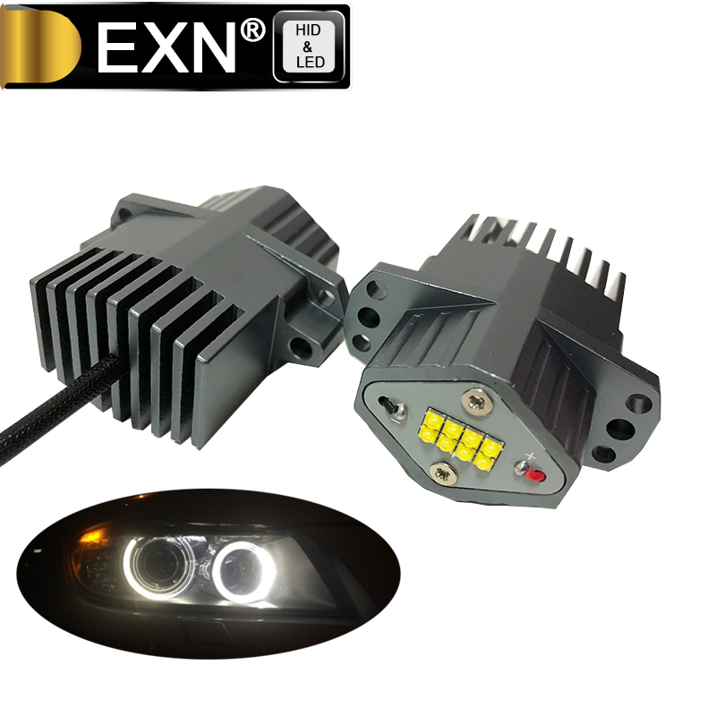 2*80W 1600W E90 E91 LED Angel Eyes Light LED Marker Angel Eyes Bulb XB-D High Quality Cips 6000-6500K White for BMW E90 E91 best price sale one pair 2x10w led marker angel eyes fit for bmw e90 e91 auto headlight car headlamp