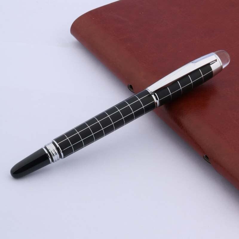 Hero 1501 Black Metal Fountain Pen//Rollerball Fine Nib 0.5mm Office Writing #sj