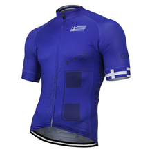 72fda454a NEW GREECE national team cycling jersey summer bike pro MTB clothing  bicycle wear clothes Breathable Customized