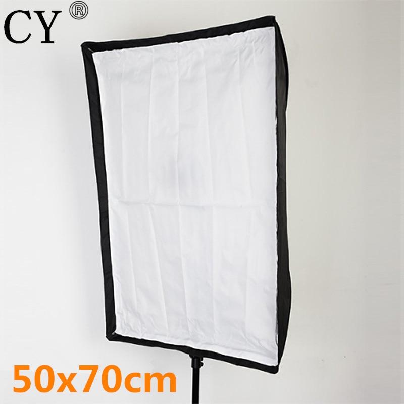 Photography Soft Box Photo Studio 50x70cm/19.7x27.6 Umbrella Softbox Reflector For Speedlite Flash Fotografia Light Box PSCS16