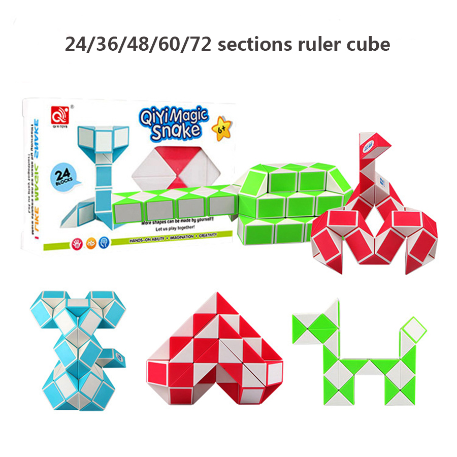 Puzzles & Games Rational 48 Segments Magic Snake Cubes Toy For Kids Boys Xinlexin Puzzle Cube Cubos Megico