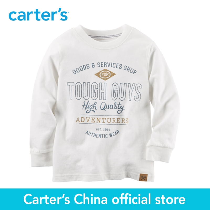 Carter s 1pcs baby children kids Long Sleeve Tough Guys Tee 243G610 sold by Carter s