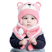 Baby Hat and Scarf Winter Hat Scarf Set