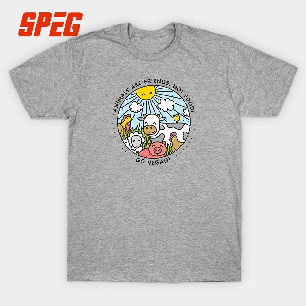 291497eac Camisetas Outono Vegan Go Animais São Amigos