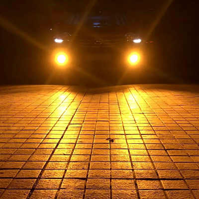 Car Bulb Fog Light Lamps H27 881 880 899 LED Fog Driving 3000K 6000K White Yellow ice blue Dual Color 12V 20W