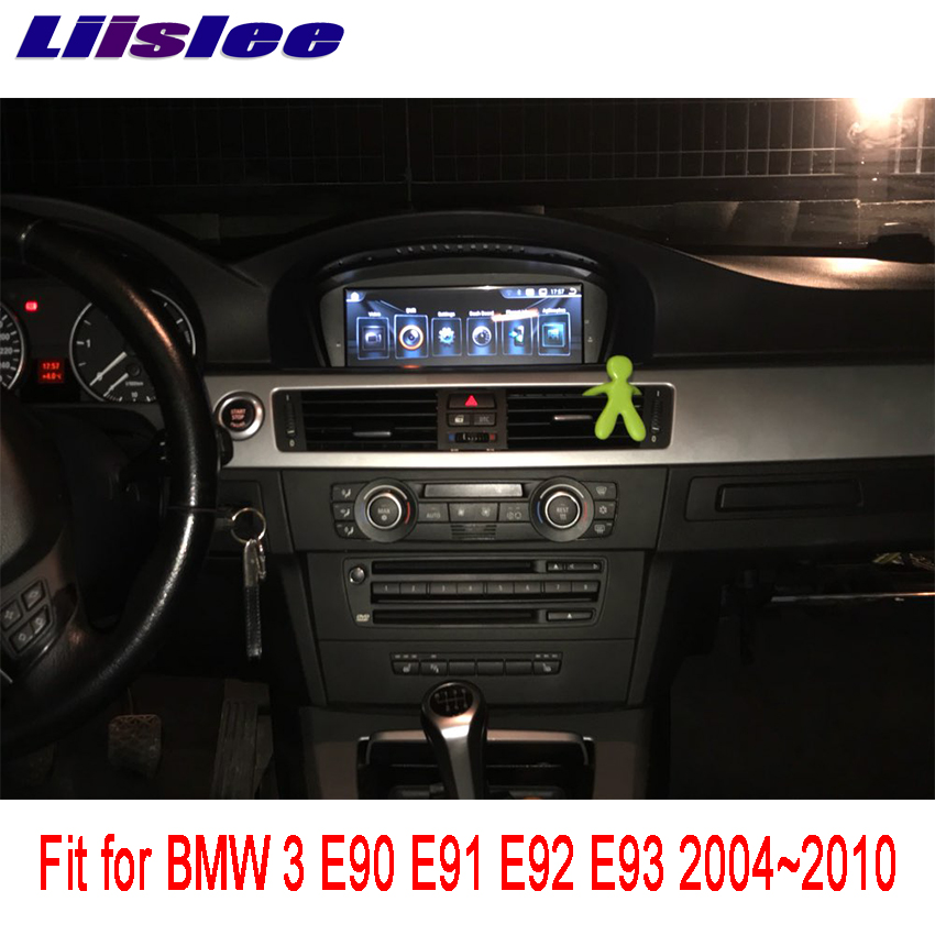 Liislee For BMW 3 E90 E91 E92 E93 2004~2010 Android Car Radio Audio Video Multimedia Player WIFI DVR GPS Navi Navigation