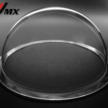 JMX 6,2 дюймов акриловая Крытая/наружная деталь для системы видеонаблюдения прозрачный корпус для купольной камеры купольные камеры видеонаблюдения корпус