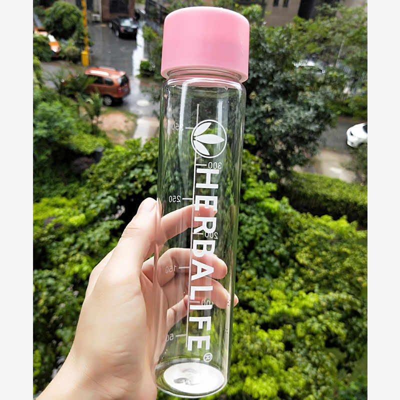 64OZ//2000ML Large Herbalife Water Bottle Cup Outdoor Sports Tritan Cycling Drink