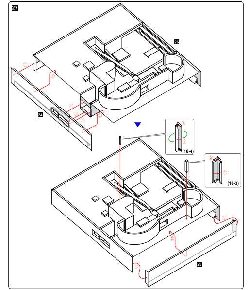 Diy Le Corbusier Villa Savoye Craft Paper Model 3d Architectural