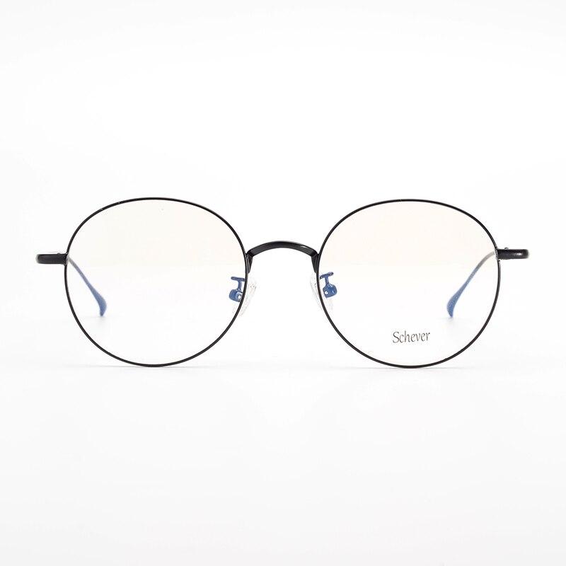 Marque Vintage lunettes rondes hommes ultra-léger carré optique lunettes cadre lunettes lunettes de Prescription mâle