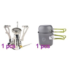 Portable Camping Stove and Backpacking Cooking Set