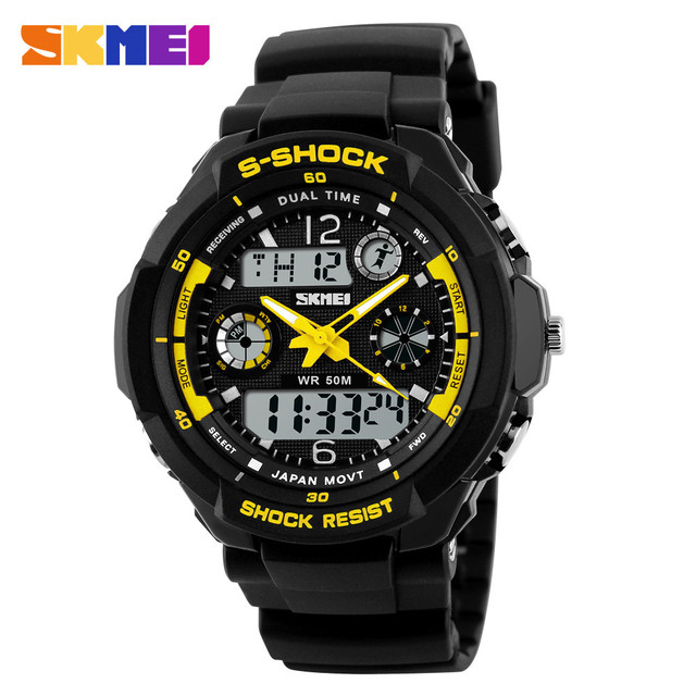 SKMEI Children Watches Sports Fashion LED Quartz Digital Watch Boys Girls Kids Watch Waterproof Wristwatches Kid Clock New 2019 4