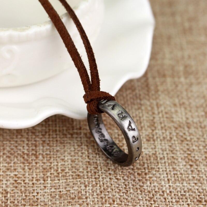 RJ offre spéciale lettre SIC PARVIS MAGNA Drake collier pendentif rond haute